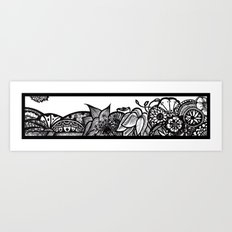 my window view Art Print