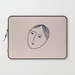 always suspicious Laptop Sleeve