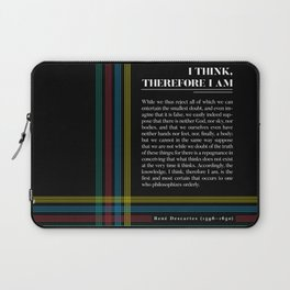 Philosophia II: I think, therefore I am Laptop Sleeve