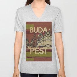 BUDA & PEST Unisex V-Neck