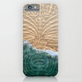 Maori Beach iPhone Case