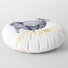 Guineafowl Floor Pillow