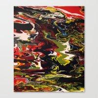 acid Canvas Prints featuring Acid by Jordan Luckow
