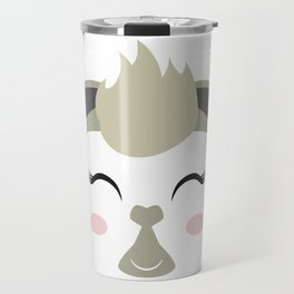 THE LAMA FACE Travel Mug
