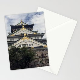 Osaka Castle, Osaka, Japan Stationery Cards