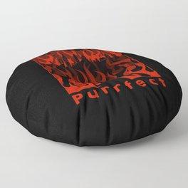 Purrfect Floor Pillow
