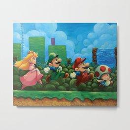 Super Mario Bros 2 Metal Print