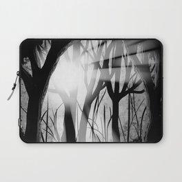 """Forest Light"" | Digital Art Laptop Sleeve"