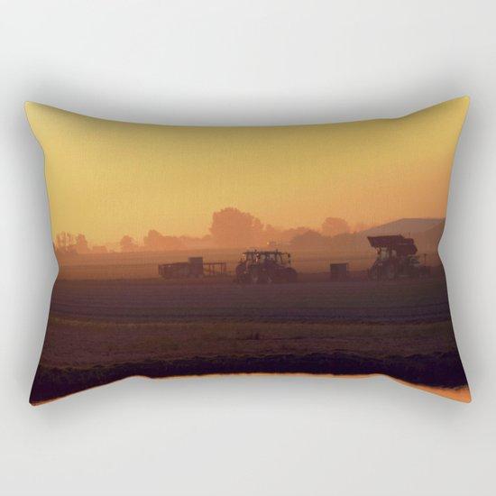 Morning activity #2 Rectangular Pillow