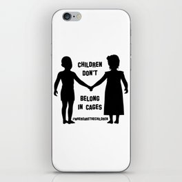 Where Are The Children? iPhone Skin