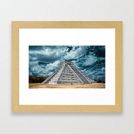 Chichen Itza Visions Framed Art Print
