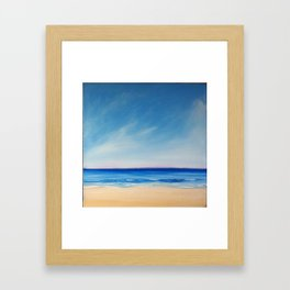 Sand Sea Sky Framed Art Print