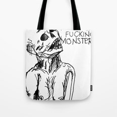 A word on strangers Tote Bag