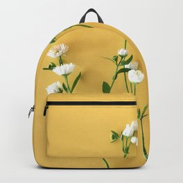 Yellow summer   Flower Photography Backpack