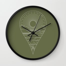 Heading Out Wall Clock