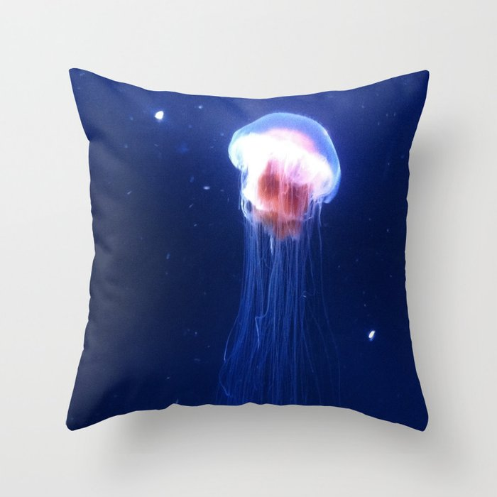 Jelly. Throw Pillow