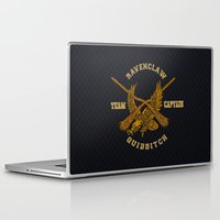 quidditch Laptop & iPad Skins featuring Ravenclaw quidditch team iPhone 4 4s 5 5c, ipod, ipad, pillow case, tshirt and mugs by Three Second