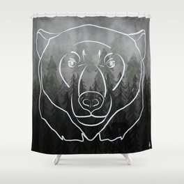 Spirit Guide Shower Curtain