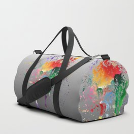 Colorful greetings Duffle Bag