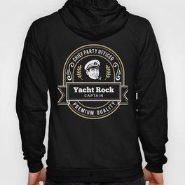 Yacht Rock Captain - Party Boat Drinking Illustration Hoody