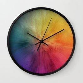 Colourburst Wall Clock