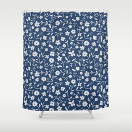 Floral Ditsy GB Shower Curtain