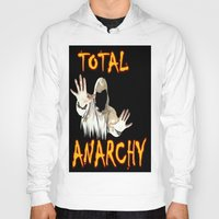 sons of anarchy Hoodies featuring ANARCHY  by Robleedesigns