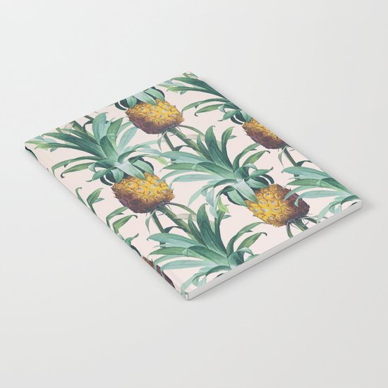 Pineapple Trellis Notebook