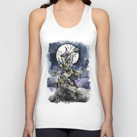 nightmare before christmas Tank Tops featuring The nightmare before christmas by Sandra Ink
