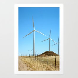 Wind Farm 3 Art Print