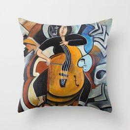 Virtuoso Throw Pillow