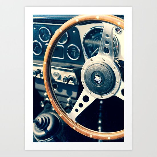 Old Triumph Wheel / Classic Cars Photography by davidbhn