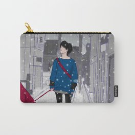 In The Snow Carry-All Pouch