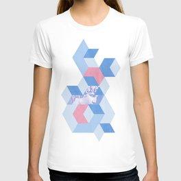 Ancient Greece Brutalism T-shirt