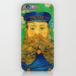 Vincent Van Gogh - Portrait of the Postman Joseph Roulin iPhone Case
