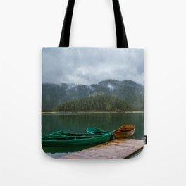 Black Lake Tote Bag