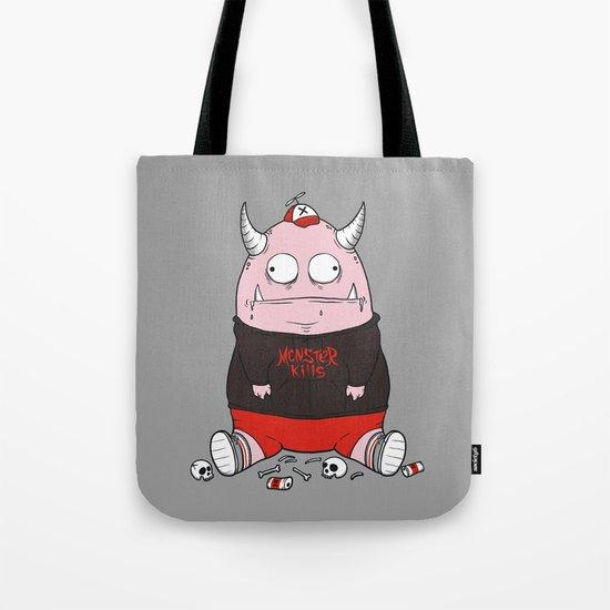 Pink Monster Kills Tote Bag