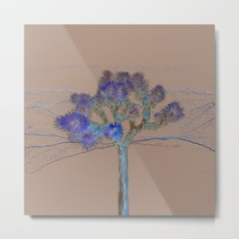 Joshua Tree Acid Wash by CREYES Metal Print