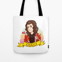 gucci Tote Bags featuring Gucci Styles by Art of Nanas