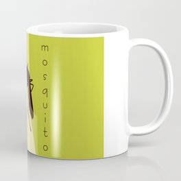 Biting mosquito print Coffee Mug