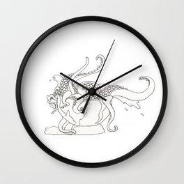 Monday Morning Coffee Wall Clock
