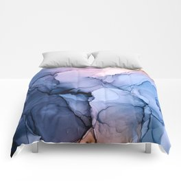 Captivating 1 - Alcohol Ink Painting Comforters