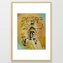 Israel 4 Framed Art Print