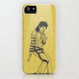 KingOfPop. (gold) iPhone Case