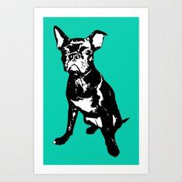 Bugg Dog Art Print