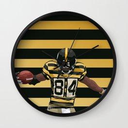 Antonio Brown  Wall Clock