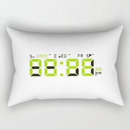 Nope O Clock Rectangular Pillow