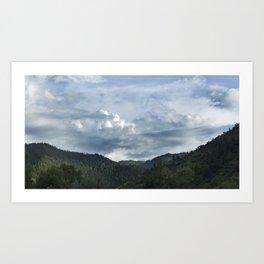 Princess Mononoke Landscape Art Print