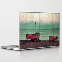 sailboat Laptop & iPad Skins featuring Sailboat by Regan's World