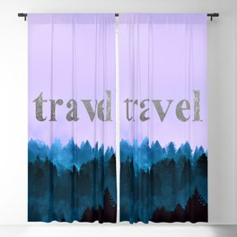 Travel - Forest Wanderlust Blackout Curtain
